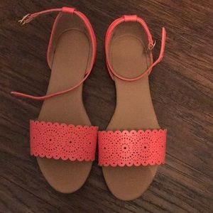 Coral Old Navy Sandals